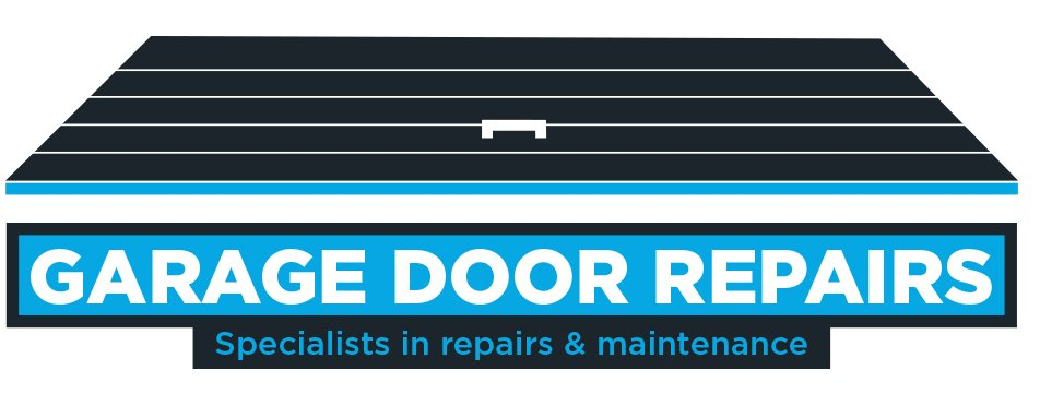 garage door repairs logo